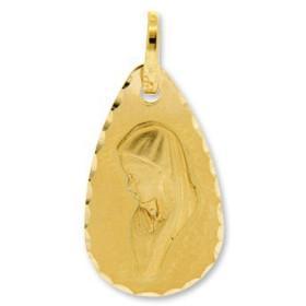 Médaille vièrge en or