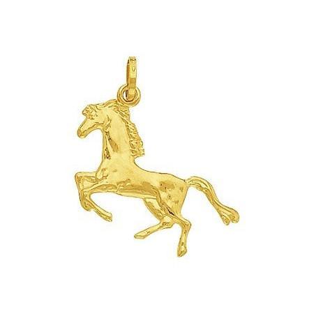 Pendentif cheval en or