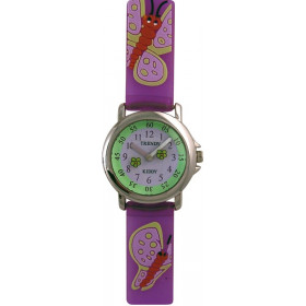 Montre fille, Trendy Kiddy avec bracelet pvc.