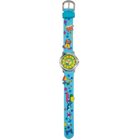 Montre mixte, Trendy Kiddy avec bracelet pvc.