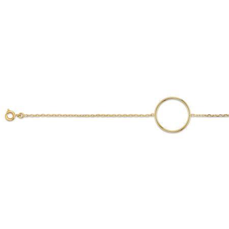 Bracelet plaqué or.