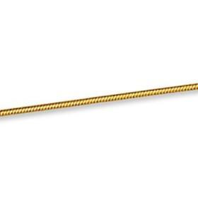 Chaîne serpent plaqué or.
