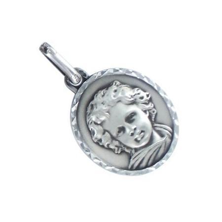 Médaille ange en argent