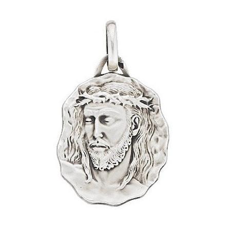 Grande médaille Jésus Christ en argent.