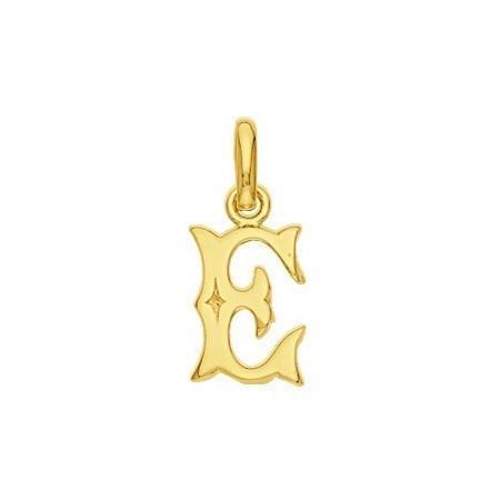 Pendentif lettre E