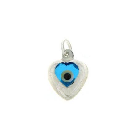 Pendentif de l'oeil bleu.