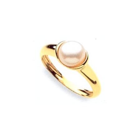 Bague Solitaire perle