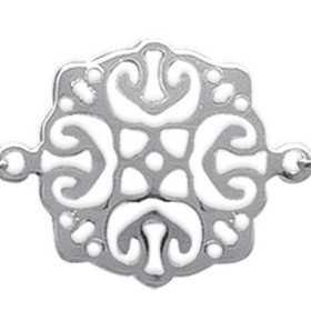 Bracelet argent pendenloques style charleston de 14 mm