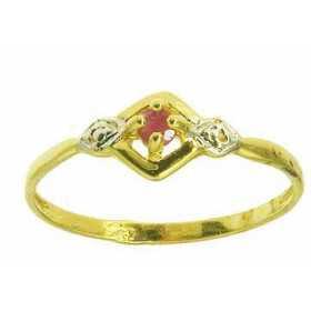 Bague davina en or avec rubis
