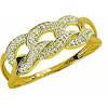 Bague flavie en or avec diamants