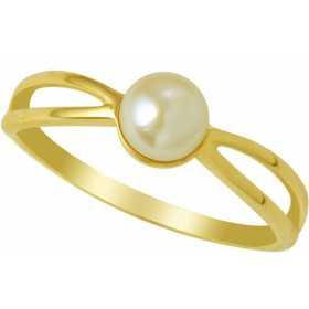 Bague hanae en or avec perle de culture