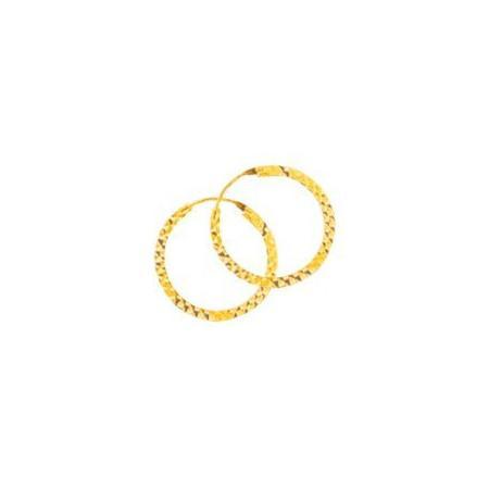 Créoles en or