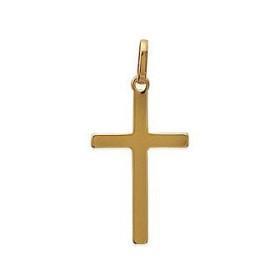 Croix plaqué or.