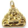 Pendentif gros Bouddha plaqué or