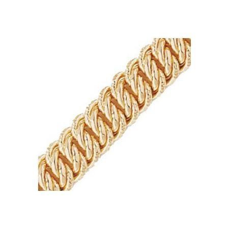 Bracelet or mailles américaines 10mm