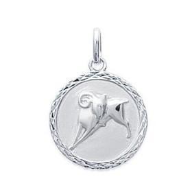 Médaille zodiaque Bélier argent