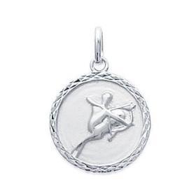 Médaille zodiaque Sagittaire en argent
