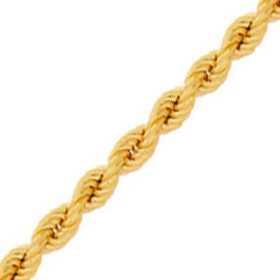 Chaine de cheville en or