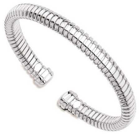 Bracelet argent rigide ø60mm