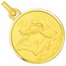 Médaille ange en or 18k