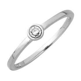 Bague diamant or gris et diamants