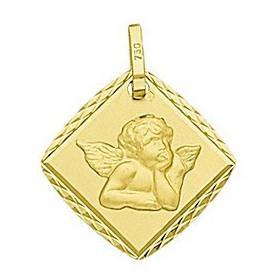 Médaille en or ange