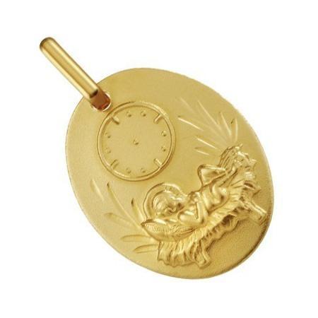Médaille bébé de naissance en or