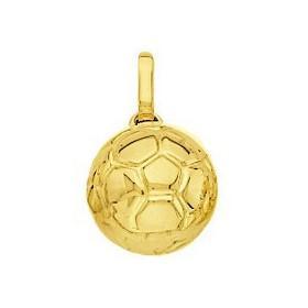 Pendentif ballon de foot en or
