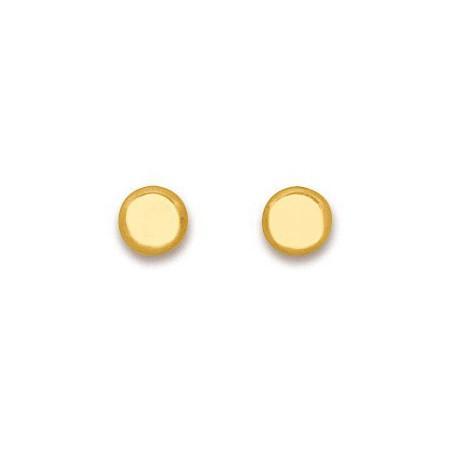 Clous d'oreilles en or