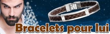 Bracelets hommes pour noël